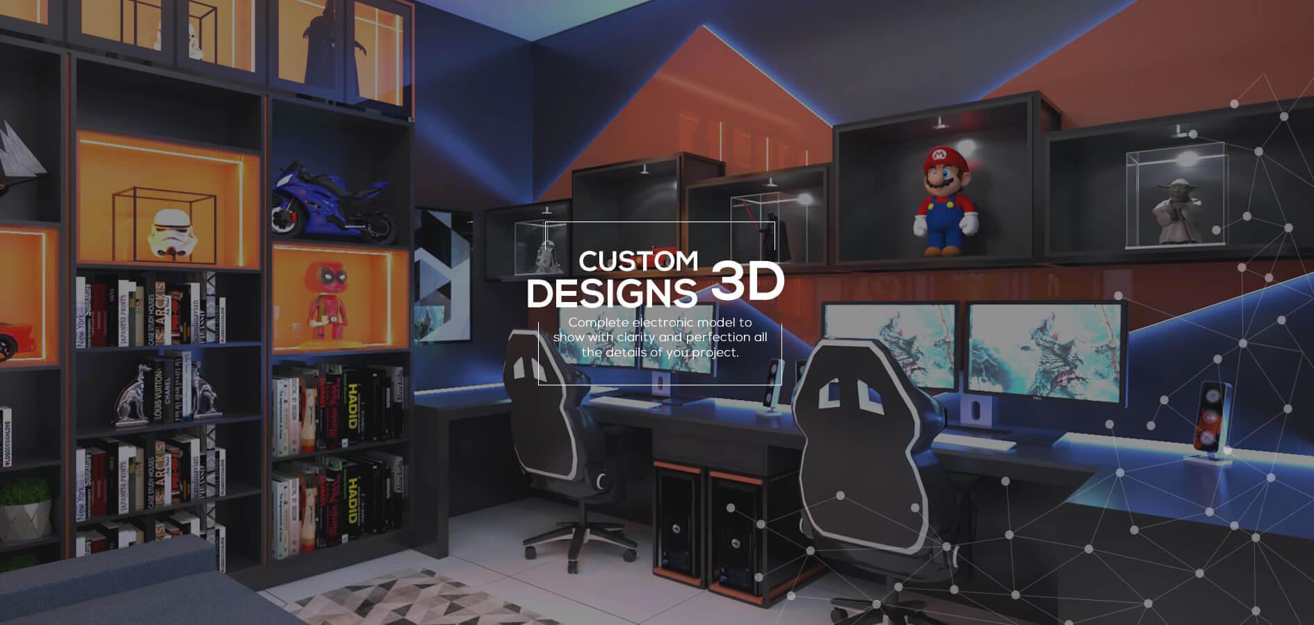 Custom Designs 3D